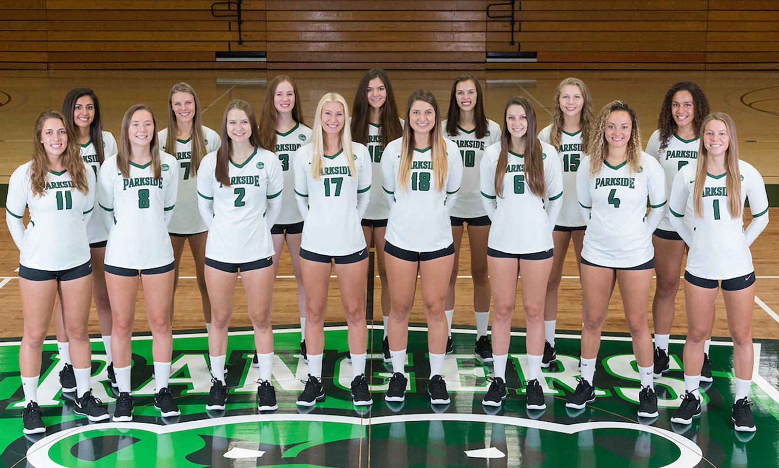 2018 Volleyball Roster Parkside Athletics